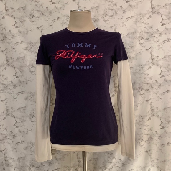 97a44c02 Tommy Hilfiger Tops | Womans Long Sleeve Tshirt Size S | Poshmark